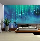 Fototapete Abstrakter Ozean Taucher Tapete Wandbild Kunst Tapeten Wohnzimmer Schlafzimmer...