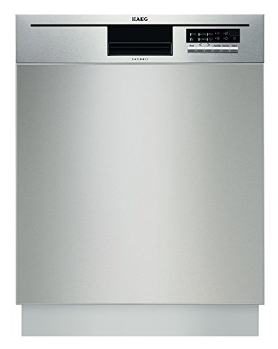 AEG-Electrolux FAVORIT F56602UM0P Unterbaugeschirrspüler / A++ / 262 kWh/Jahr / 13 MGD / 2860 Liter/Jahr / Herausragende Reinigungsergebnisse dank maximaler Wasserreichweite