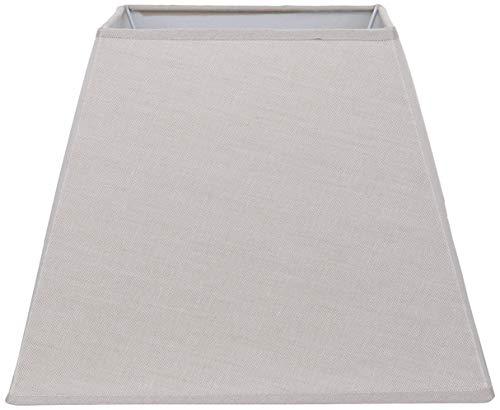 Better & Best Topo Pantalla de lámpara de Lino, Cuadrada, de 30,5 cm, Color, Medidas Inferior: 29,5x29,5 Superior:17,5x17,5, Altura:23 cm
