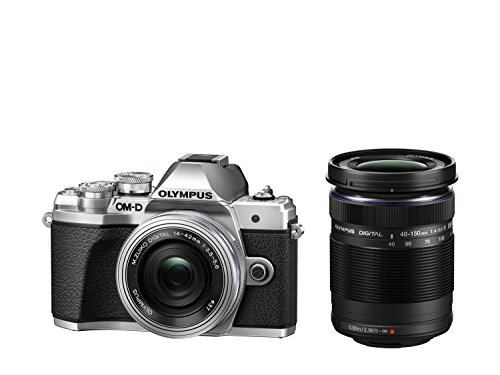 Olympus OM-D E-M10 Mark III Kit, Micro Four Thirds System Camera (16 MP, 5-Axis Image...