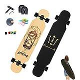 Longboard Komplettboard Skateboard, 127×25 Longboard Cruiser,...