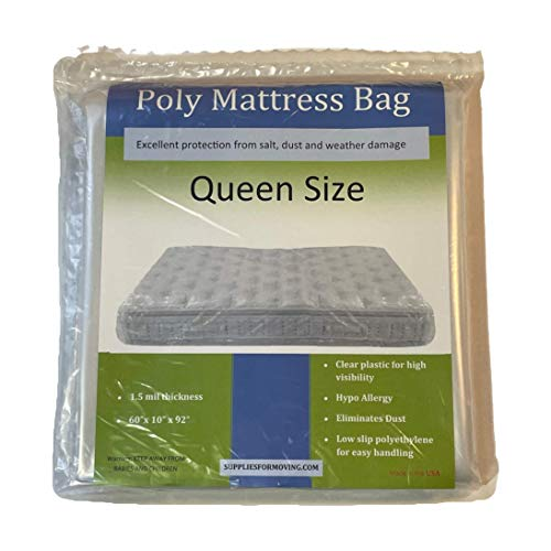 Mattress Bag for Moving and Storage, Mattress Cover (Queen)