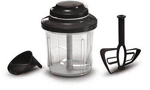 Tupperware Extra Chef Blender Black, Kunststoff, 21 x 16.6 x 16.6 cm, 3-Einheiten