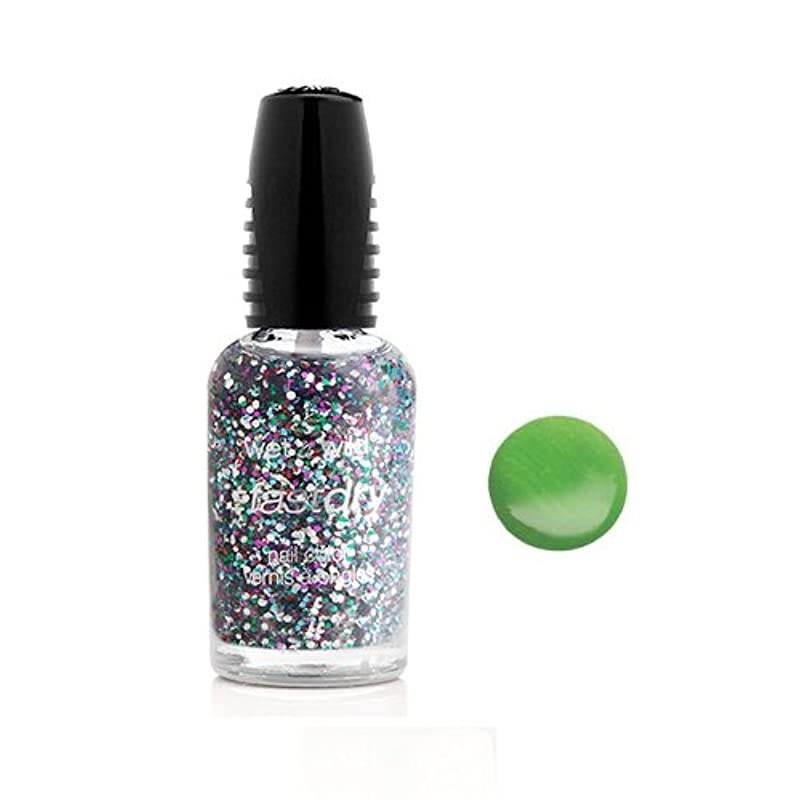 力強い高い雪(6 Pack) WET N WILD Fastdry Nail Color - Sage in the City (DC) (並行輸入品)