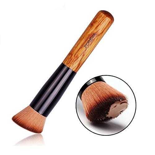 ZHHAOXINPA Pinceaux de Maquillage Fondation Kabuki Synthétique Polissage Stippling Liquide Crème Blending Outils
