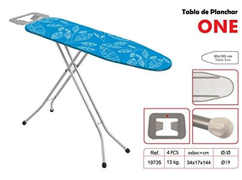 Garhe - Mesa para planchar, 125 x 32 cm, colores aleatorios