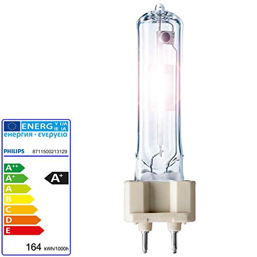 150w Philips CDM-T MASTERColour Ceramic Metal Halide Lamp - G12cap 942 - Pure White