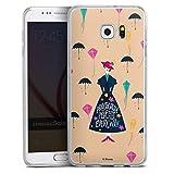 DeinDesign Coque Slim Compatible avec Samsung Galaxy S6 Edge Plus Coque Ultra Fine Coque en Silicone...