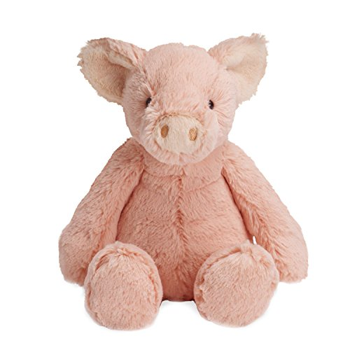 Manhattan Toy Lovelies Pink Piper Pig Stuffed Animal, 8'