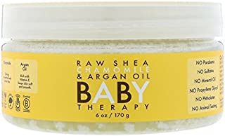 Raw Shea Chamomile & Argan Oil Baby Therapy 6 oz (Pack of 3)