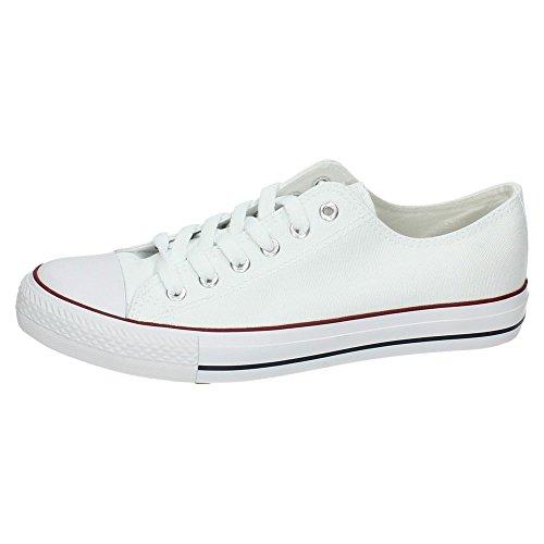 DEMAX 9-A1612A-12 Deportivas Blancas Hombre Zapatillas Blanco 41
