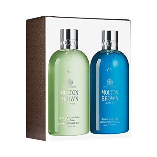 Molton Brown - Dewy Lily of the Valley & Star Anise and Blissful Templetree Bath & Shower Gel Duo - 2-teiliges Duschgel-Set zum Vorzugspreis