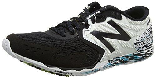 New Balance Hanzo, Zapatillas de Running Para Hombre, Negro (Black/White), 45.5 EU