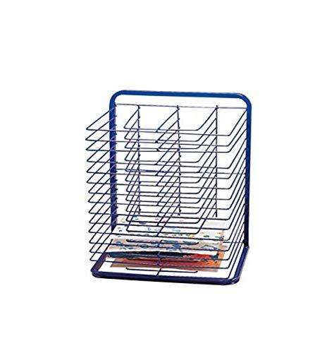 Marvel Education Co. Economy Drying Rack - 2 3/4 x 17 x 25 - Blue