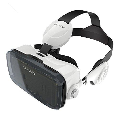 Virtoba X5-VR-Gafas 3D-Casco de Realidad Virtual para Smartphone con Correa...