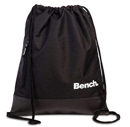 Bench Rücksacke Drawstring Backpack 37 x 45 cm. Schwarz 64154-0100