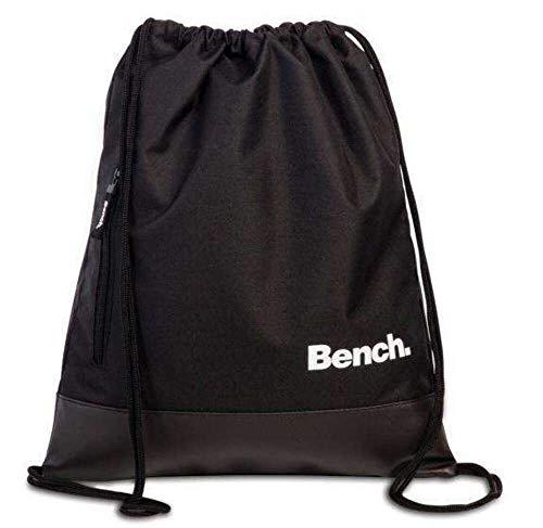 Bench Rücksacke Drawstring Backpack 37 x 45 cm. Schwarz 64154-0100