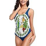 PARKNOTES Belize Flag Ladies Swimsuit...