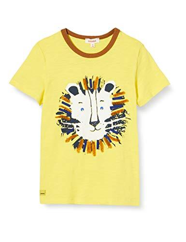 Catimini Cq10062 tee Shirt M/c Camiseta, Amarillo (Jaune Moyen 72), 9-12 Meses (Talla del Fabricante: 9M) para Bebés