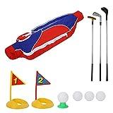 Liukouu Kinder Golf Club Set, Indoor Outdoor Golf Spielzeug Set für Kinder, Kleinkinder Junior und Vorschule KidsEducational Golf Spielzeug