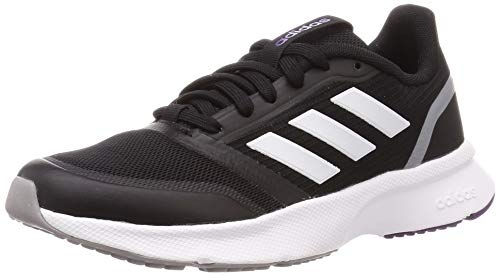 Adidas Nova Flow, Zapatillas Running Mujer, Negro (Core Black/FTWR White/Light Granite), 38 EU
