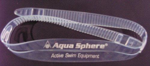 Aqua Sphere–Silicon Ersatzband für Schwimmbrillen–Transparent