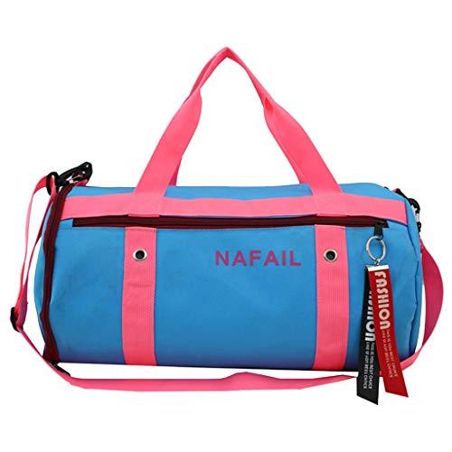 FOANA Damen Handtasche Sporttasche, Seesack/Reisetasche, Kinder Badetasche Gym Tasche Herren schwimmtasche Schultertaschen Reisetasche Jungen Urlaubstasche klein Fitnesstasche groß