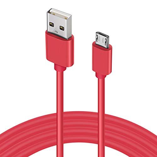 Micro Cable USB, 4,5M Extra Largo Cable Carga Rápida Android, de alta Velocidad Micro USB Cable Sincronización, Compatible con Samsung Galaxy S7/S6/S5, Controlador PS4, HTC, Sony, LG, Nexus