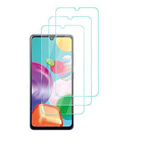 HülleLover [3 Stück] Panzerglas Schutzfolie für Samsung Galaxy A12 5G, 9H Festigkeitgrad HD Bildschirmschutzfolie Screen Protector Tempered Glass Schutzfolie [Anti-Kratzen] [Bubble-frei] [Fingerabdruck-frei]