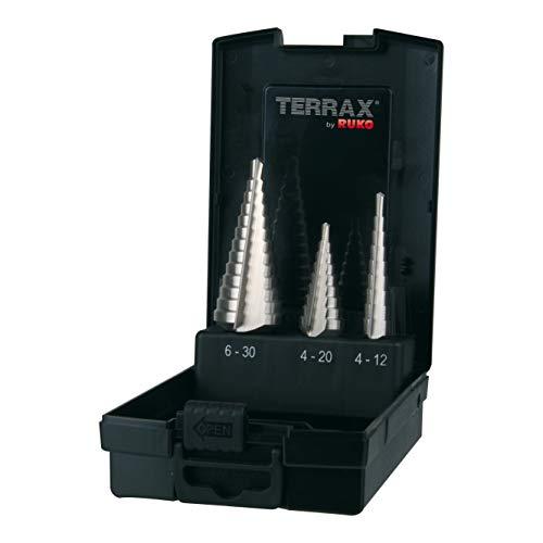 Terrax By Ruko Broca Cilindrica Hss-Tin Din 338 8,5Mm