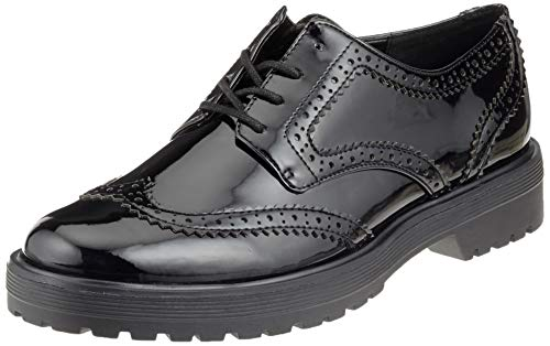ALDO Aeliria, Zapatos de Cordones Oxford para Mujer, Negro (Jet Black 2 95), 37.5 EU