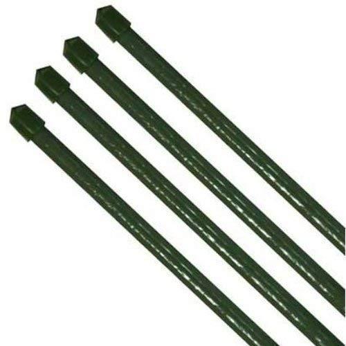 10 x Tuteur pflanzenstab fibres de coco vert diamètre 11 x 900 mm