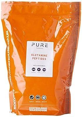 Bodybuilding Warehouse Pure Glutamine Peptides Powder (1kg)