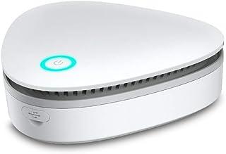 KKmoon Generador de ozono Portátil Purificador de aire para hogar Esterilizador de ozono Refrigerador doméstico Esterilizador Ambientador de alimentos Armario Gabinete de zapatos Esterilizadores