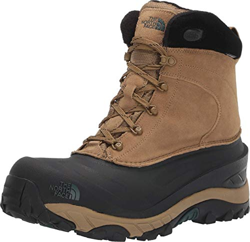 The North Face Men's Chilkat III Insulated Boot, British Khaki/TNF Black, 11 D