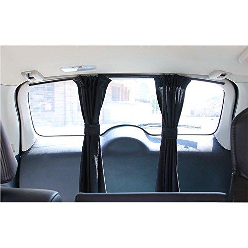 Finoki Auto-Sonnenschutz -Vorhänge Auto Schatten Vorhang Sonnenblenden für Kinder die Heckscheibe und die Seitenfenster Speichern Datenschutz // UV-Schutz Hitzeschutz // Abdunkeln // Anti-Sonne