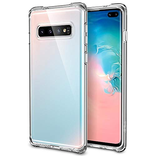 """ESR Crystal Clear Samsung Galaxy S10 Plus Case, Yellowing-Resistant Ultra-Thin Slim Soft TPU Silicone Shockproof Phone Cover for The Samsung Galaxy S10 Plus, Transparent (6.4"""")"""