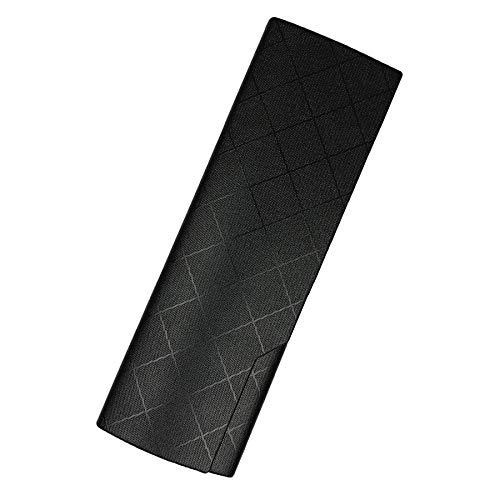 プルームテック プラス ケース (ひし型×ブラック) PloomTech Plus カバー スリム シンプル 無地 コンパクト キャリングケース