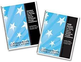 Massage Review Publications : Questions & Answers For Passing State & National Therapeutic Massage Examinations in Two Volumes