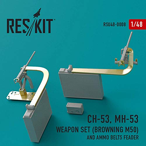 RESKIT Sikorsky CH-53, MH-53 Weapon Set (Browning M50) Aircraft RSU48-0008 1:48