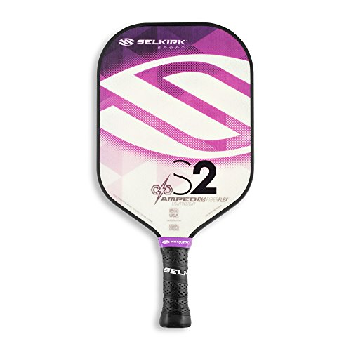 Selkirk Amped Pickleball Paddles - Made in The USA - Use The Paddle of The Pros (2019 S2 Amethyst Purple Lightweight)