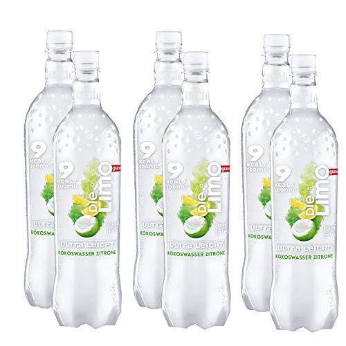 Die Limo Ultra Leicht von granini Kokoswasser-Zitrone, 6er Pack, EINWEG (6 x 1 L)
