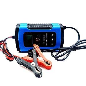 RSGK Cargador De Batería De Automóvil De 12V, Protección De Reparación De Pulso De Pantalla Digital Inteligente…
