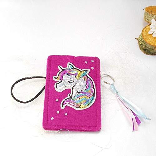 Handy Tasche, MP 3 Player Tasche, Etui, pink, Einhorn 3