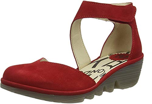 Fly London Damen Pats801fly Pumps, Rot (Lipstick Red 013), 39 EU