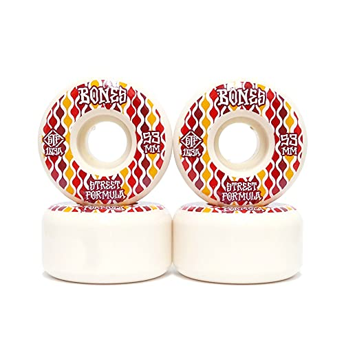 ストリート仕様 BONES WHEEL ボーンズ ウィール STF V2(LOCKS)103A RETROS 53mm スケートボード スケボー