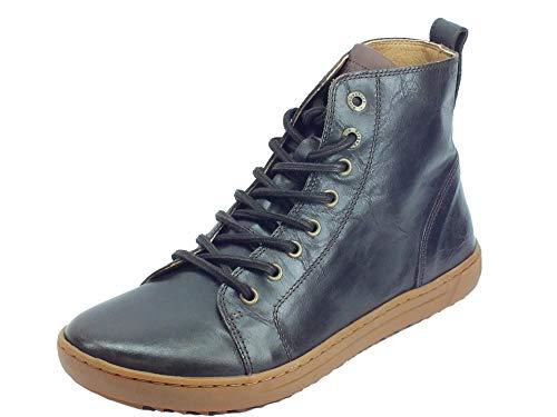 BIRKENSTOCK 1013611 Bartlett Aviator Mocha Stiefel für Damen aus glänzendem Leder, Braun - Mocha - Größe: 40 EU