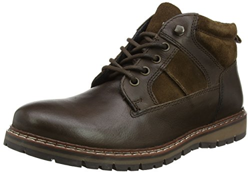 Red Tape Men's Huxley Boots, Brown (Brown), 11 UK 45 EU