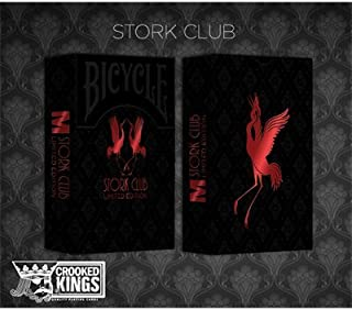 Bicycle Made Stork Club (Limited Edition) Deck by Crooked Kings Cards - Trick