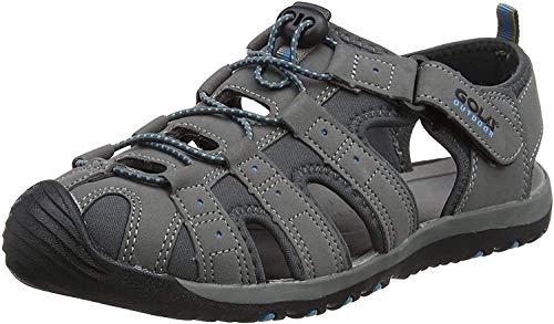 Gola Shingle 3, Sandales de Randonnée Homme, Gris (Grey/black/blue) 41 EU